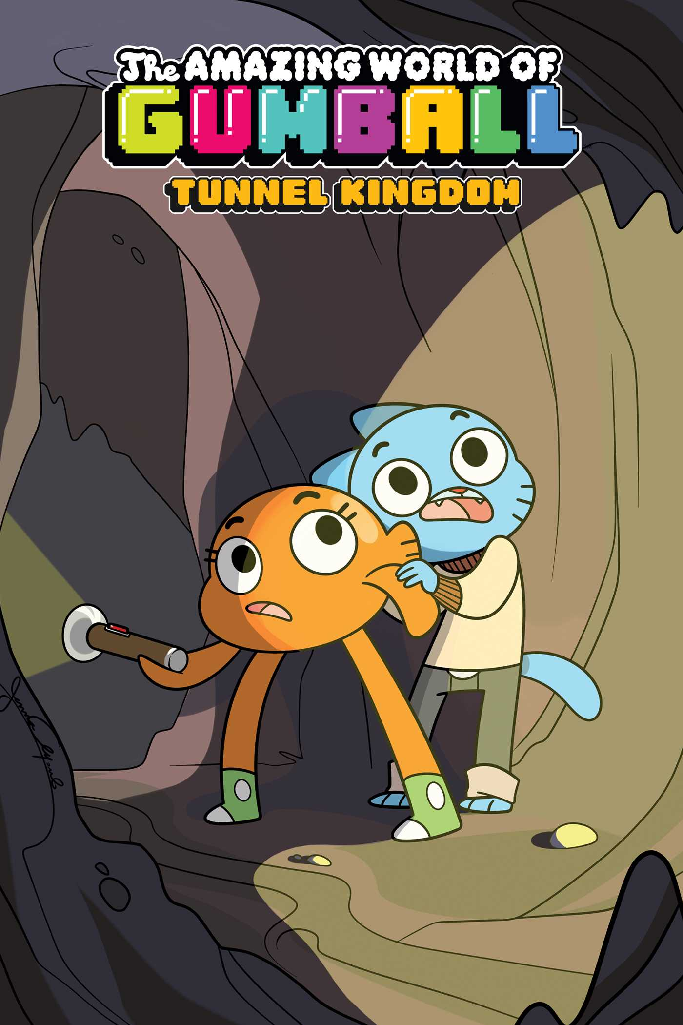 The amazing world of gumball tunnel kingdom 9781684152353 hr