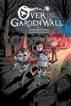over the garden wall original graphic novel distillatoria book by