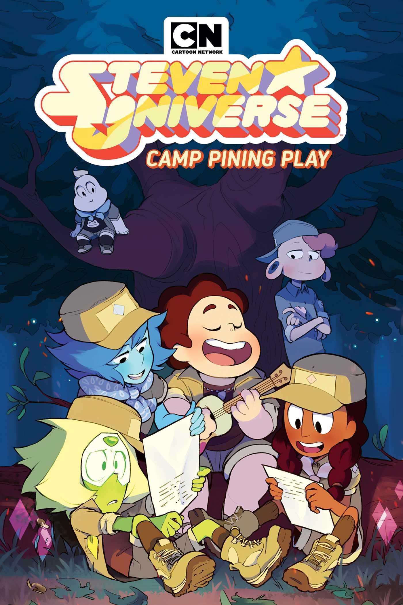 Steven Universe Original Graphic Novel Camp Pining Play