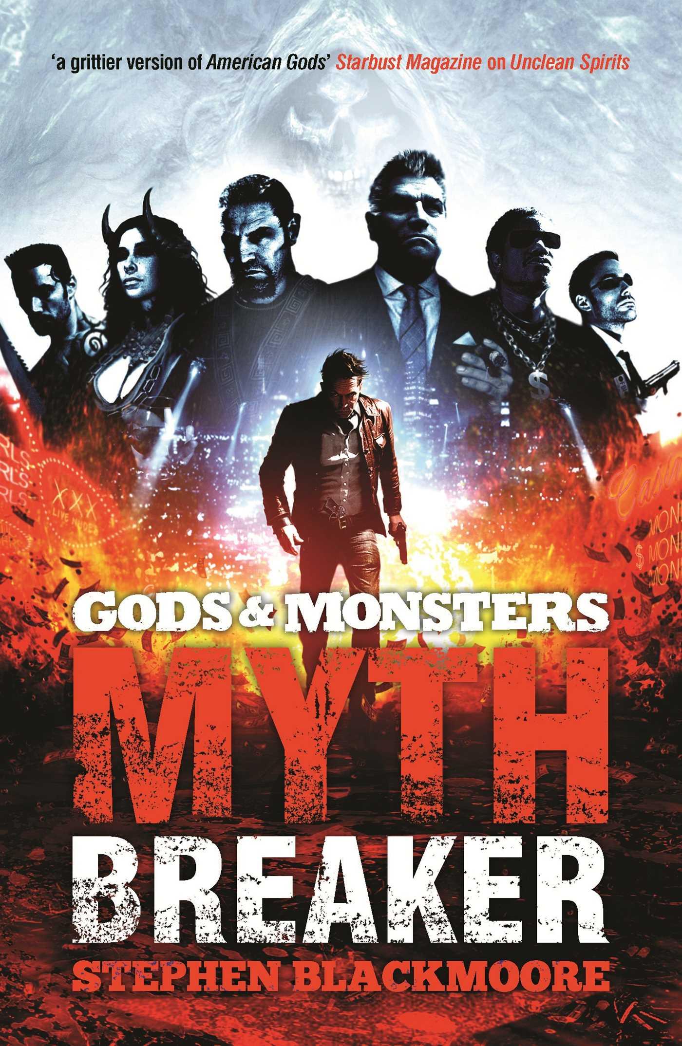 Gods and monsters mythbreaker 9781781082553 hr