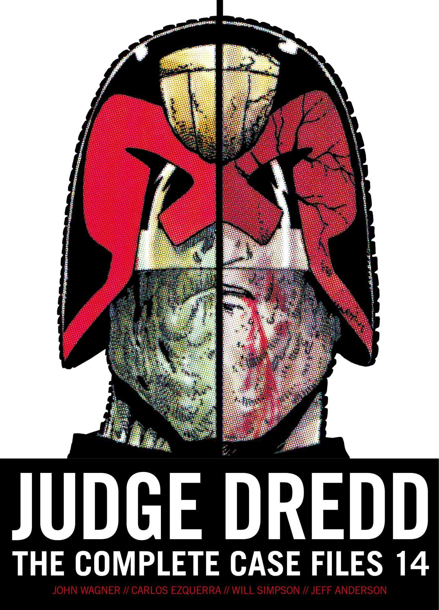 Judge dredd the complete case files 14 9781781085479 hr