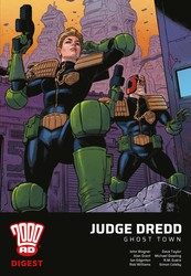 2000 AD Digest - Judge Dredd: Ghost Town