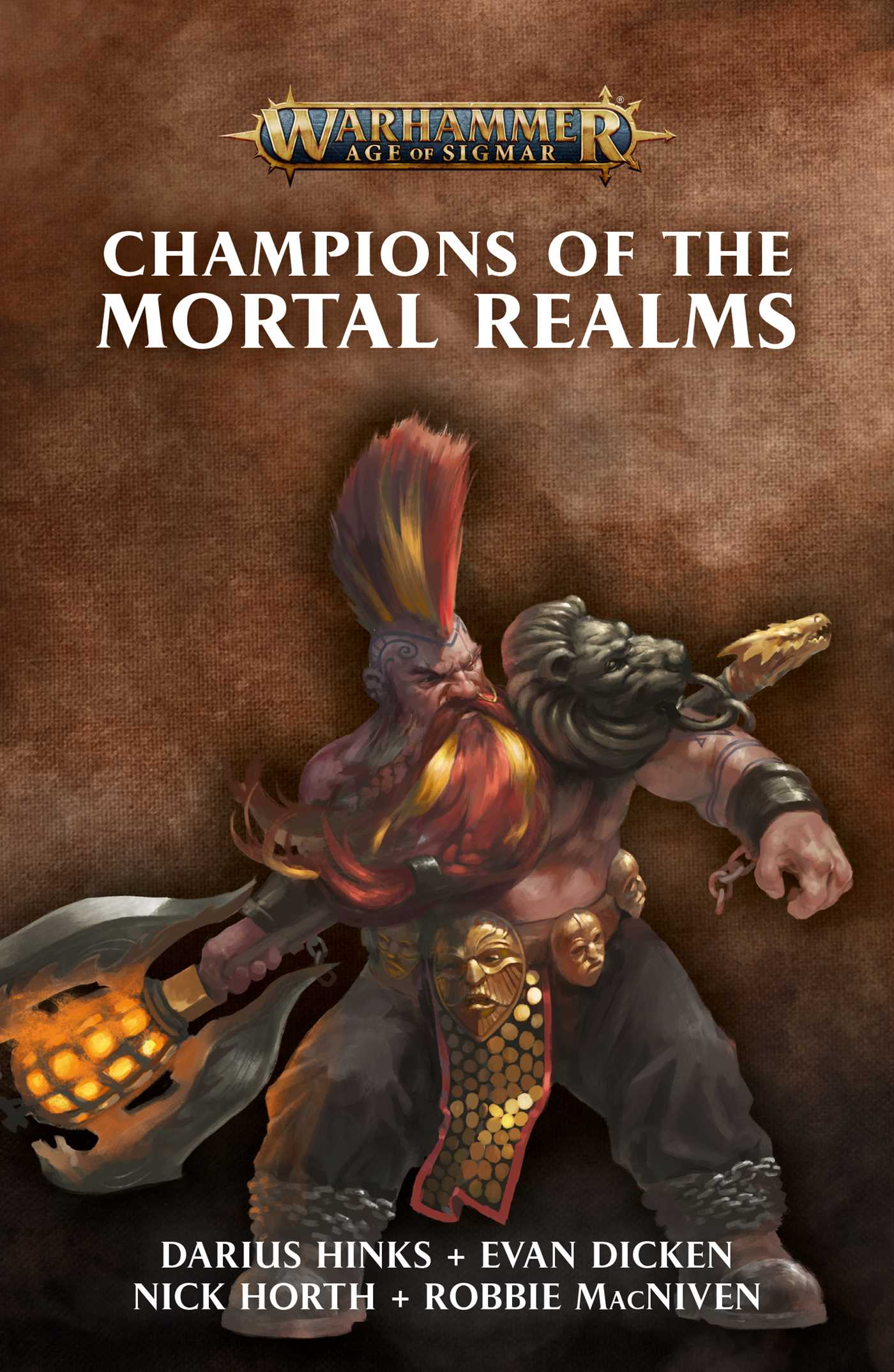 Champions of the Mortal Realms | Book by Various | Official