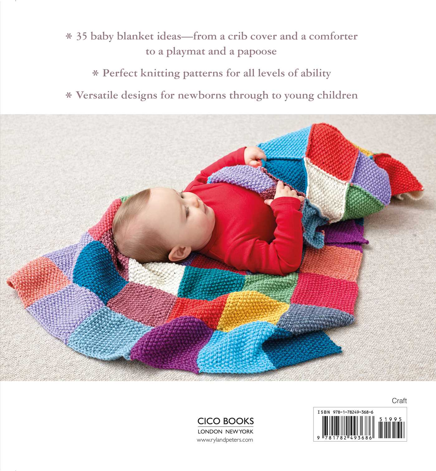 35 Knitted Baby Blankets | Book by Laura Strutt | Official Publisher ...