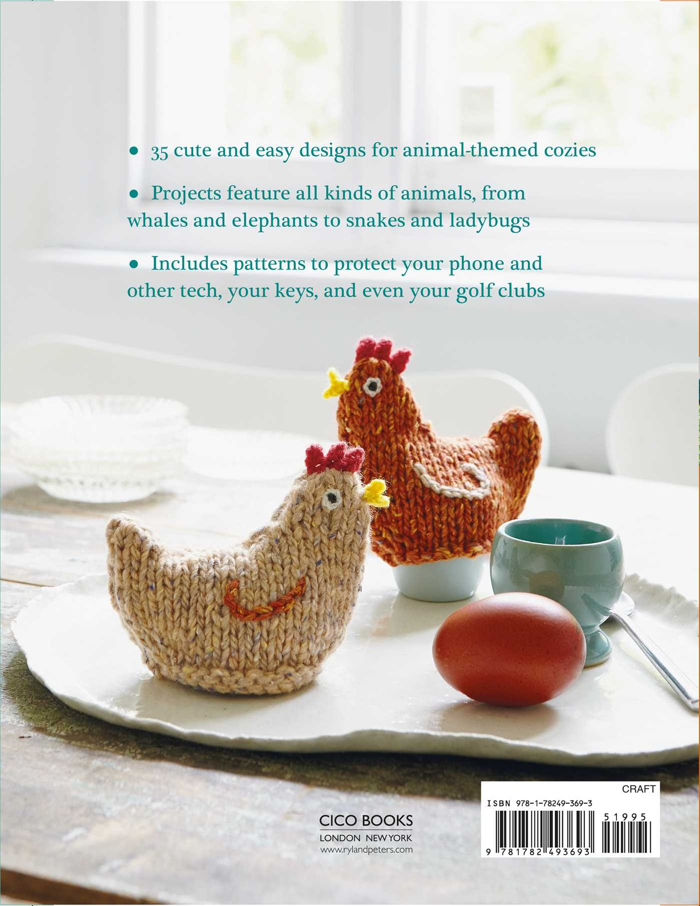 Knitted Animal Cozies | Book by Fiona Goble | Official Publisher ...