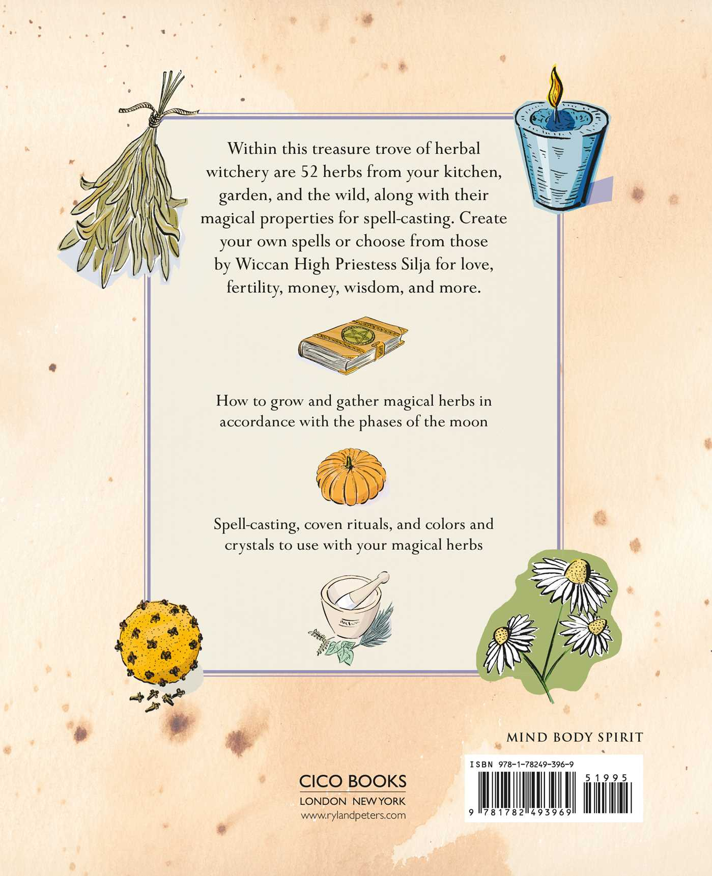 The Green Wiccan Herbal | Book by Silja | Official Publisher Page