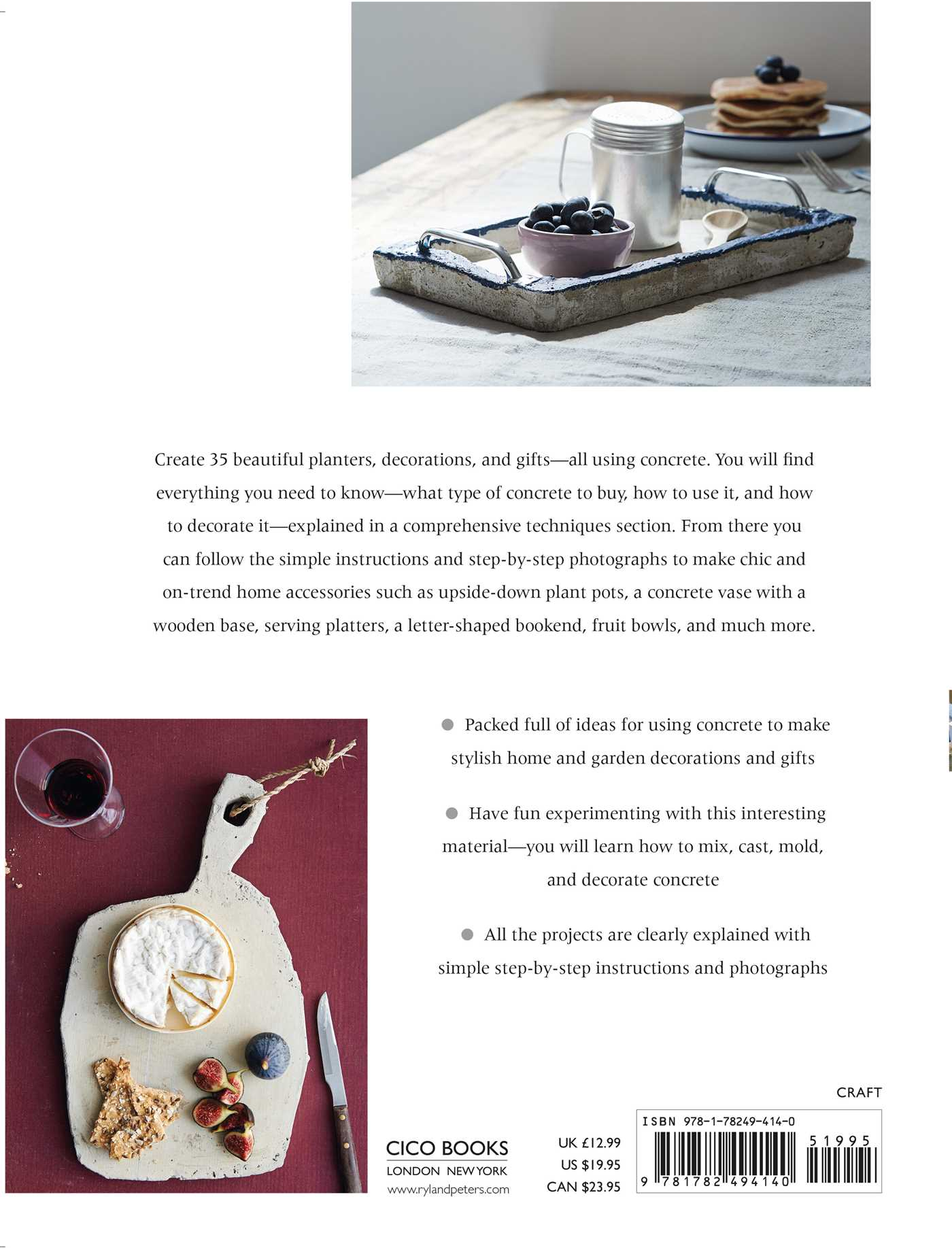 Making Concrete Pots, Bowls, and Platters | Book by Hester van ...