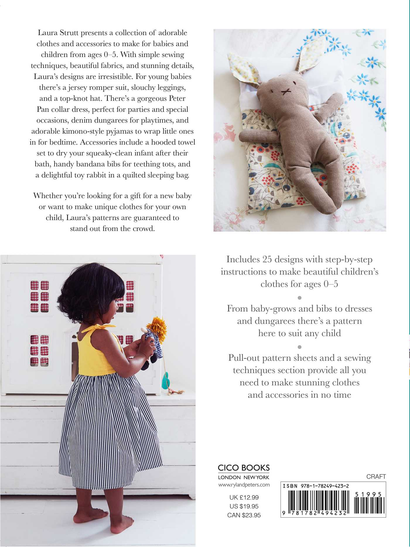Sewing For Babies And Children Book By Laura Strutt Official