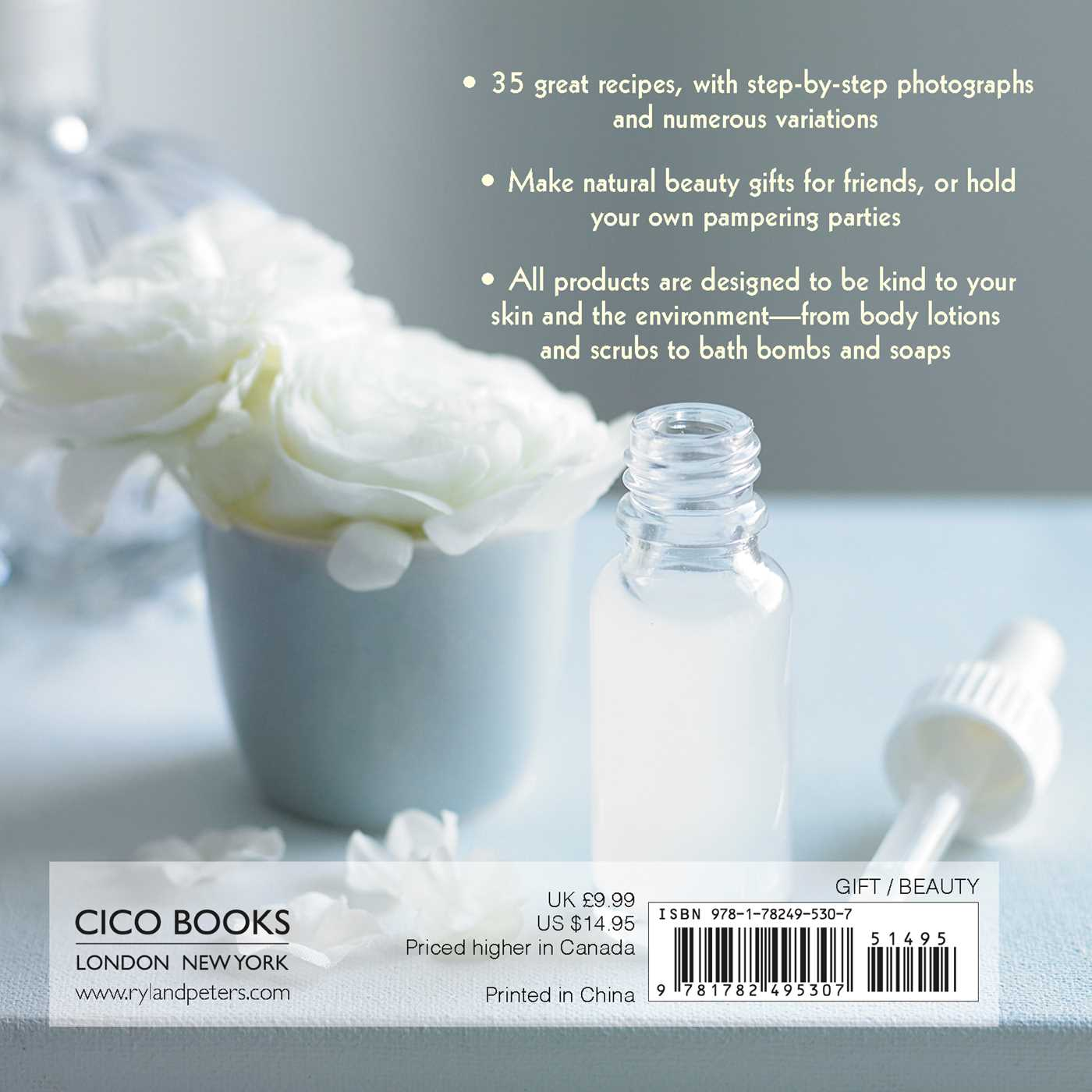 The little pocket book of natural beauty 9781782495307 hr back