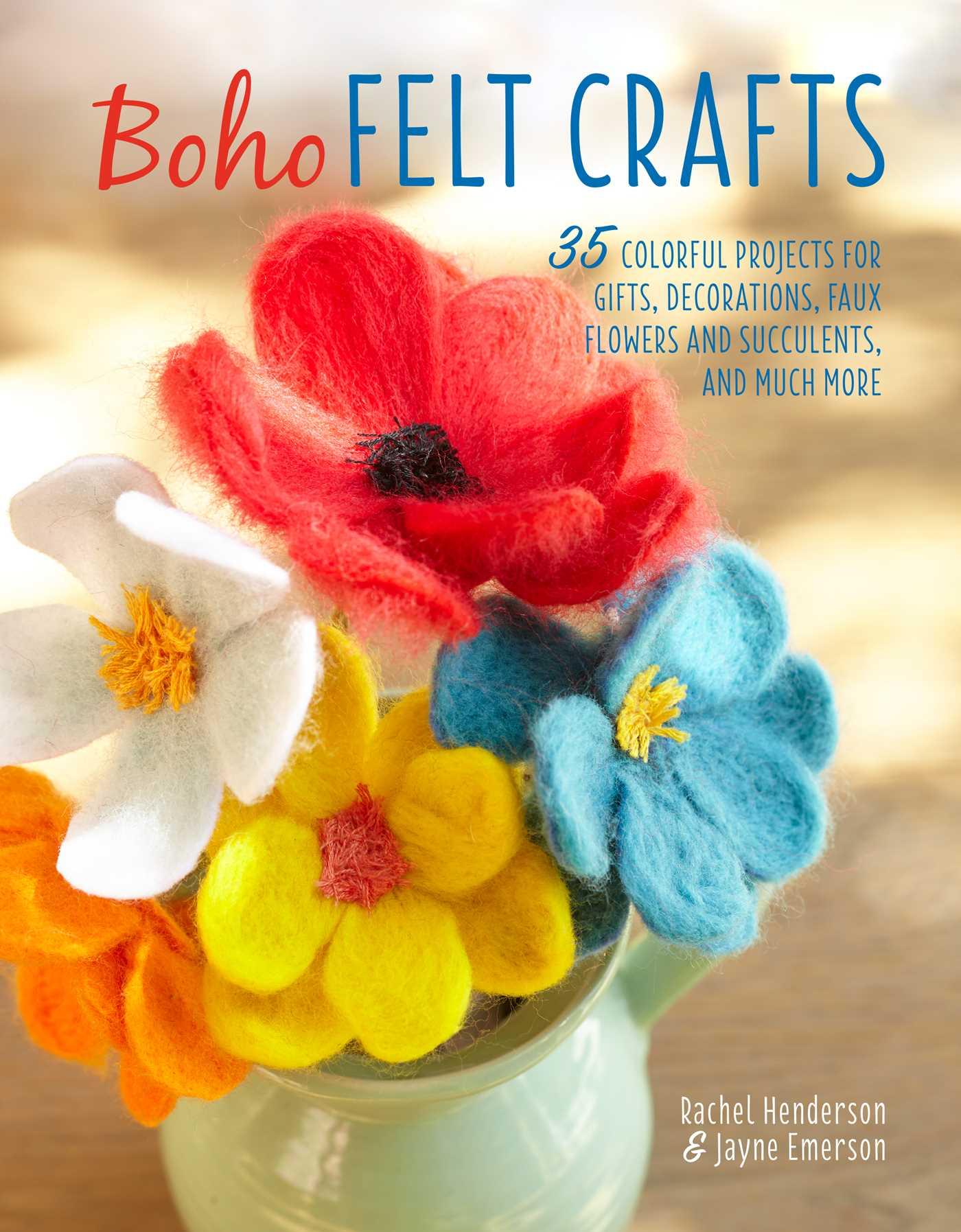 Boho felt crafts 9781782495550 hr