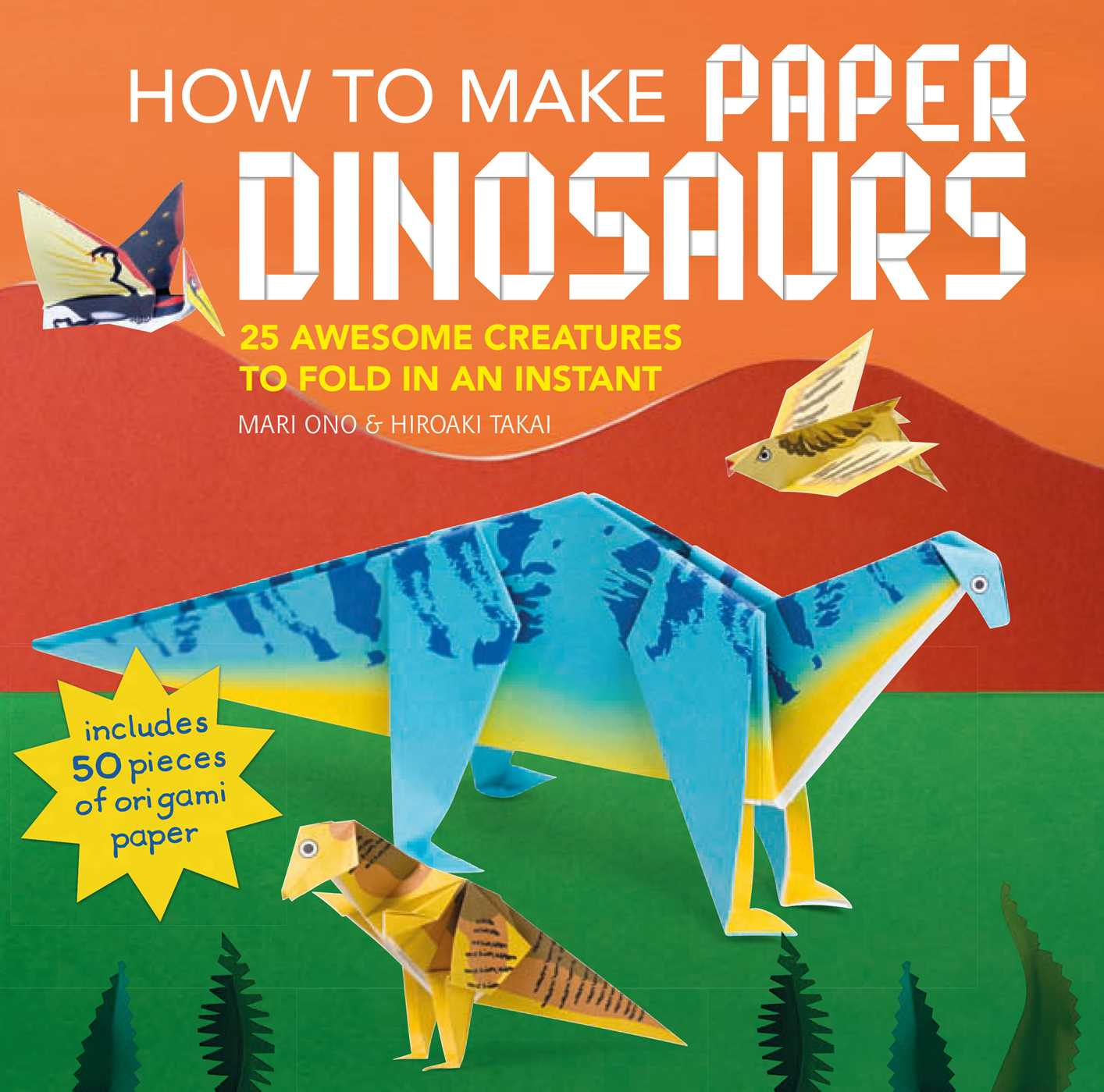 How to make paper dinosaurs 9781782496335 hr