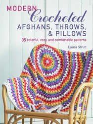 Modern Crocheted Afghans, Throws, and Pillows