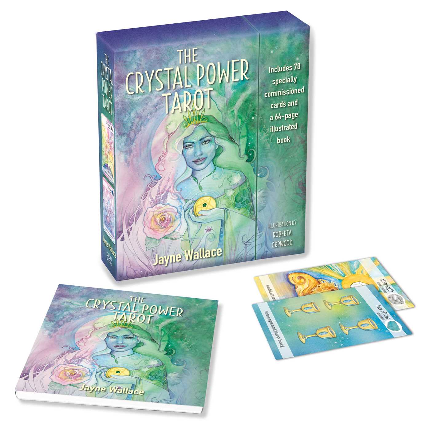 The Crystal Power Tarot - Book Summary & Video | Official