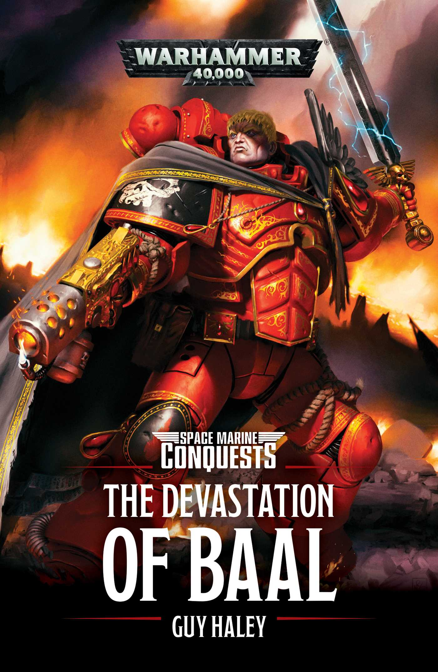 The Devastation of Baal | Book by Guy Haley | Official