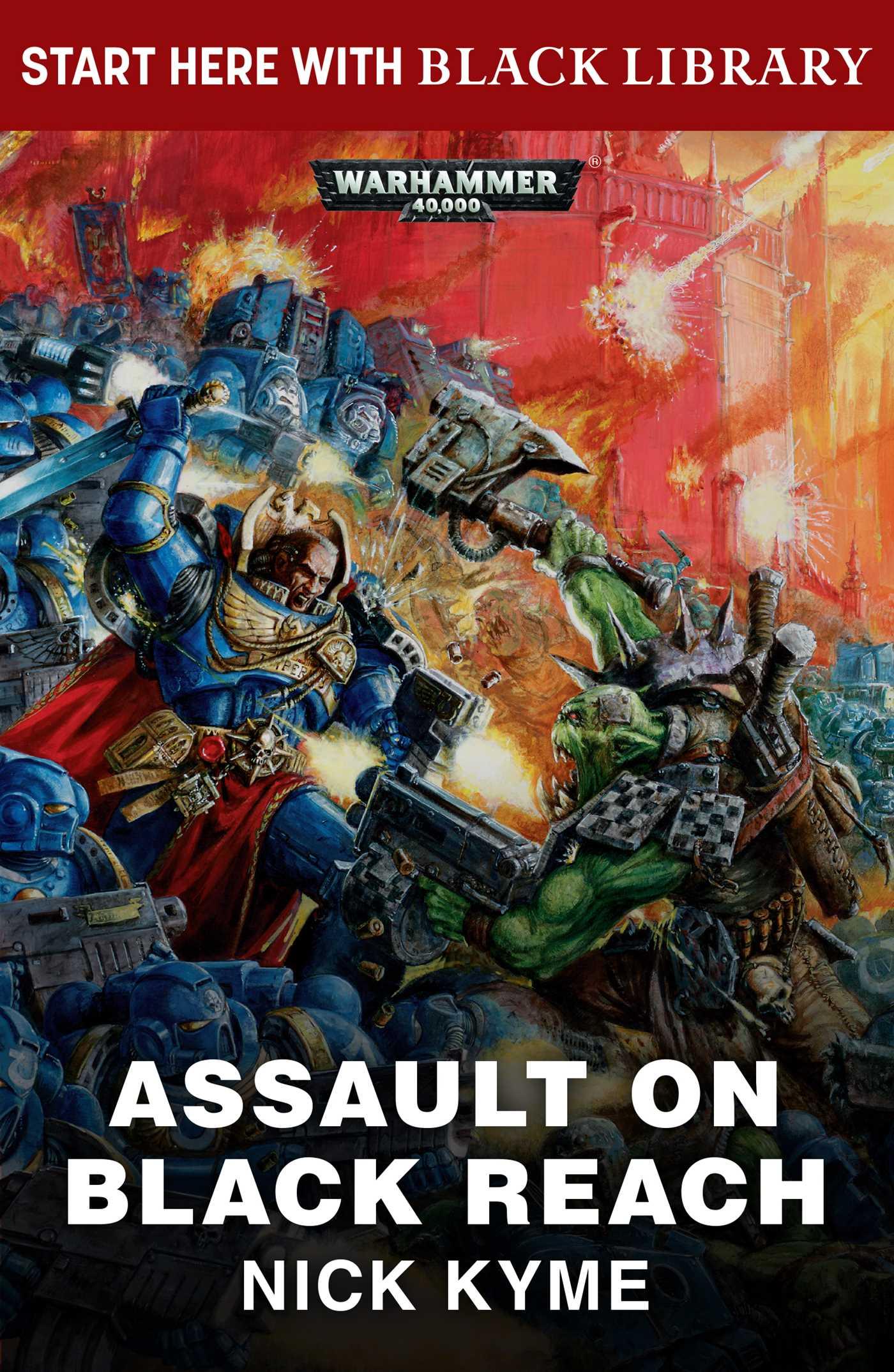 Assault on black reach 9781784967475 hr