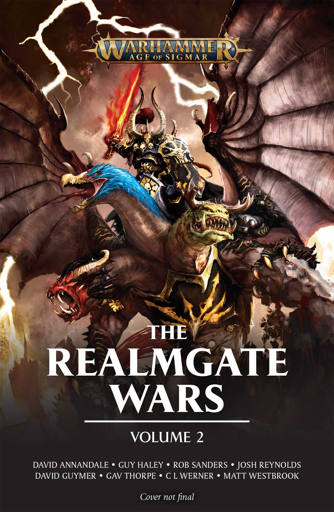The realmgate wars volume 2 book by c l werner matt westbrook the realmgate wars volume 2 9781784967666 hr fandeluxe Image collections