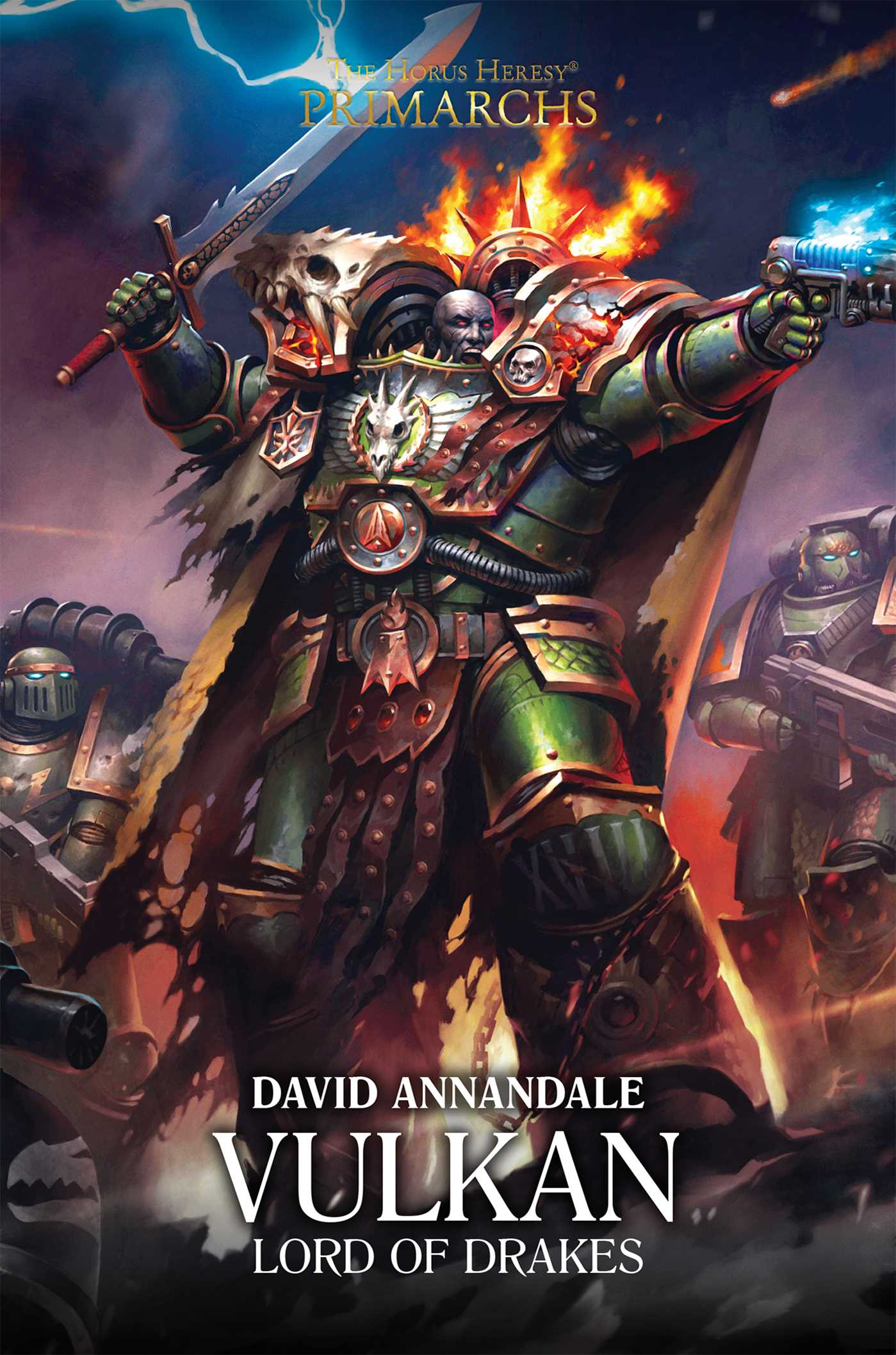 Vulkan: Lord of Drakes   Book by David Annandale   Official