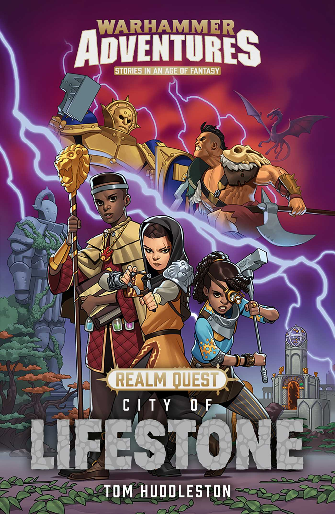 Realm quest city of the lifestone 9781784967826 hr