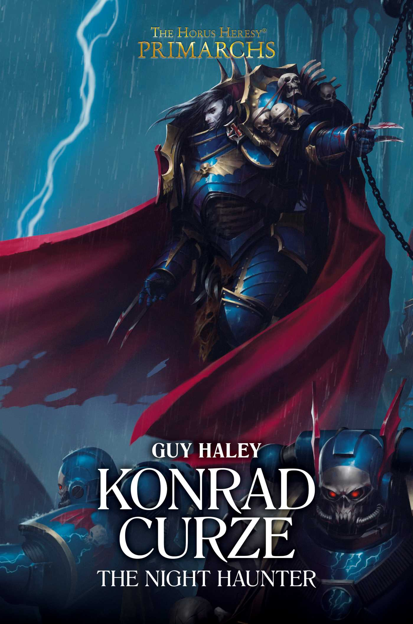 Konrad Curze: The Night Haunter | Book by Guy Haley | Official