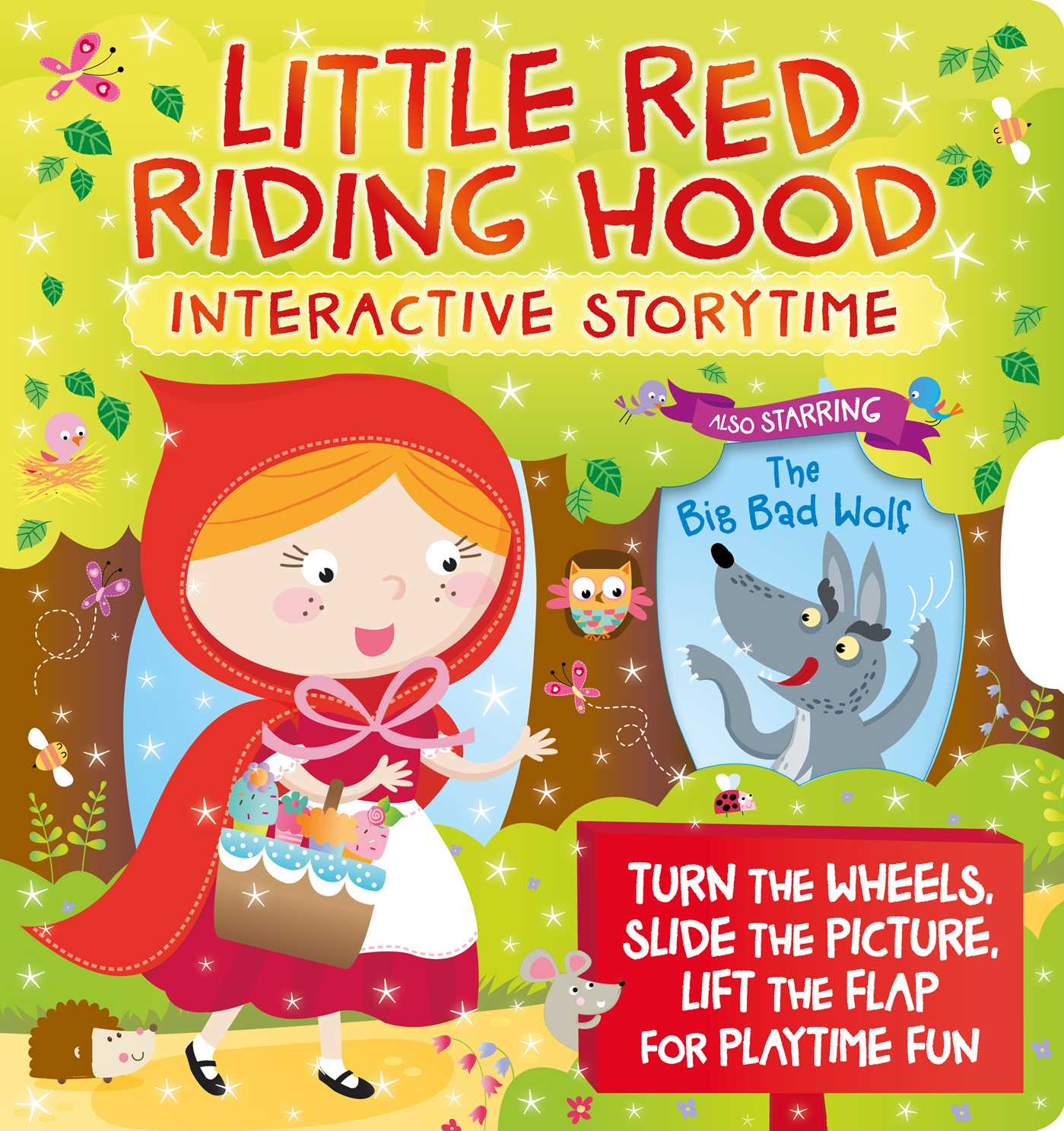 Little red riding hood interactive storytime 9781785573064 hr