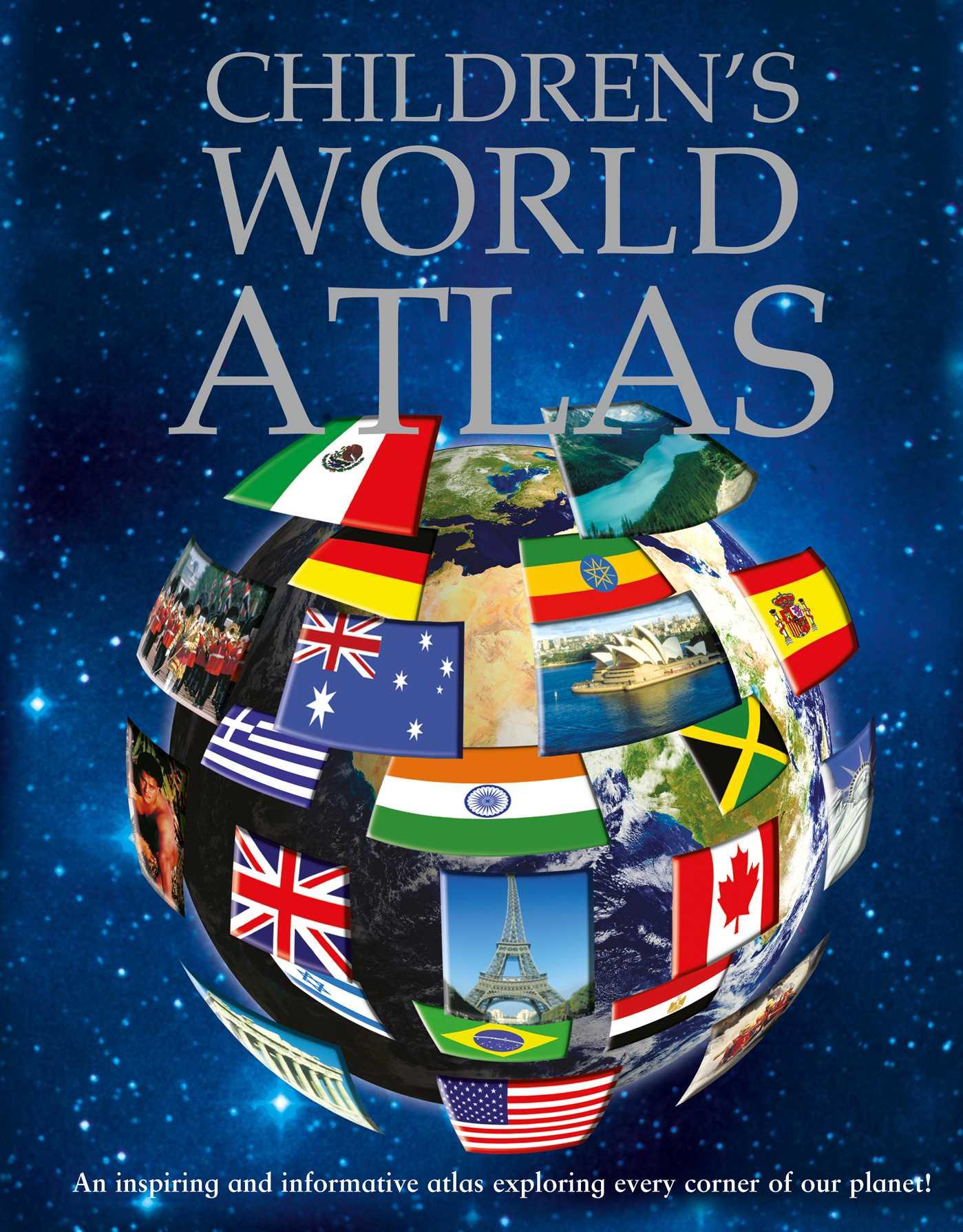 Book Cover Image (jpg): Children's World Atlas