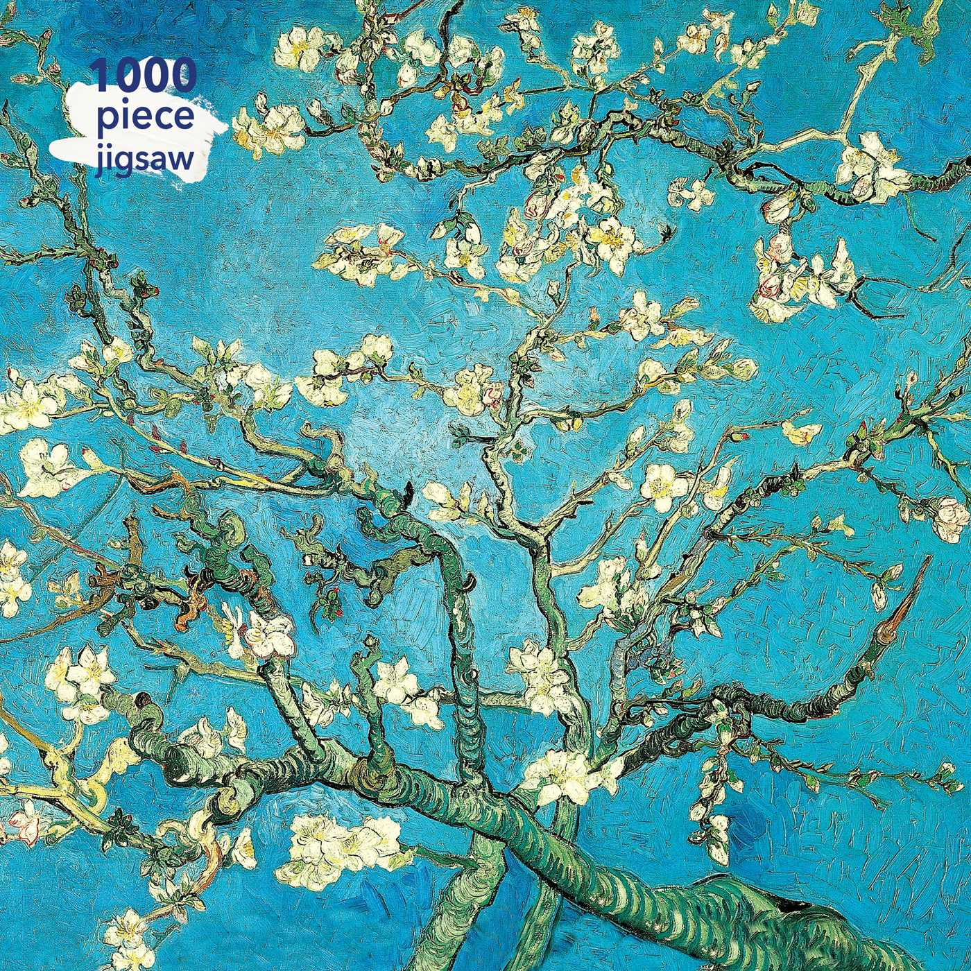Jigsaw Puzzles Van Gogh Abstract Apricot Blossom Mini Paper Puzzle Adult Kid Toy