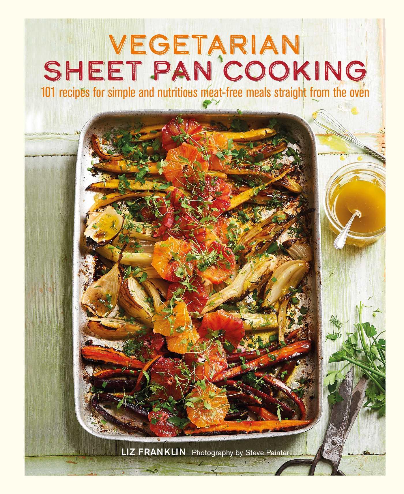 Vegetarian sheet pan cooking 9781788790291 hr