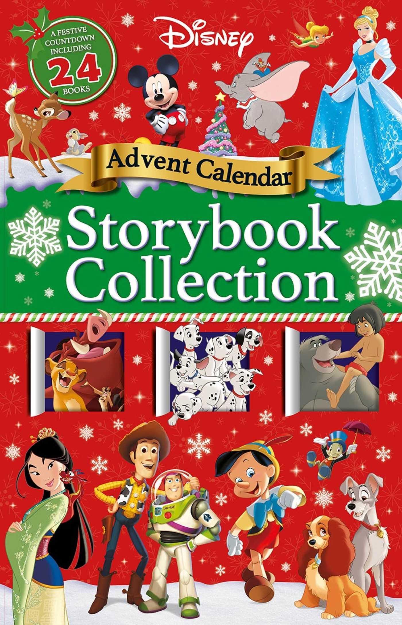 Disney storybook collection advent calendar 9781789053425 hr