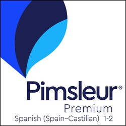 Pimsleur Spanish (Spain-Castilian) Levels 1-2 Premium