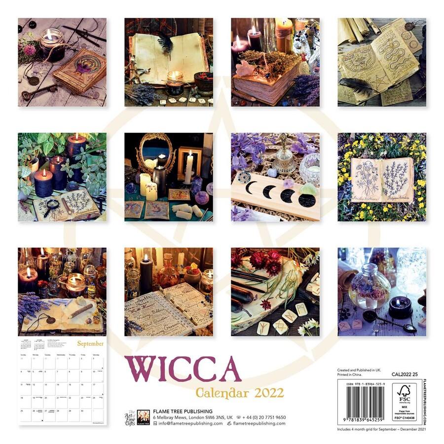 Wiccan Calendar 2022.Wicca Wall Calendar 2022 Art Calendar Book Summary Video Official Publisher Page Simon Schuster Canada