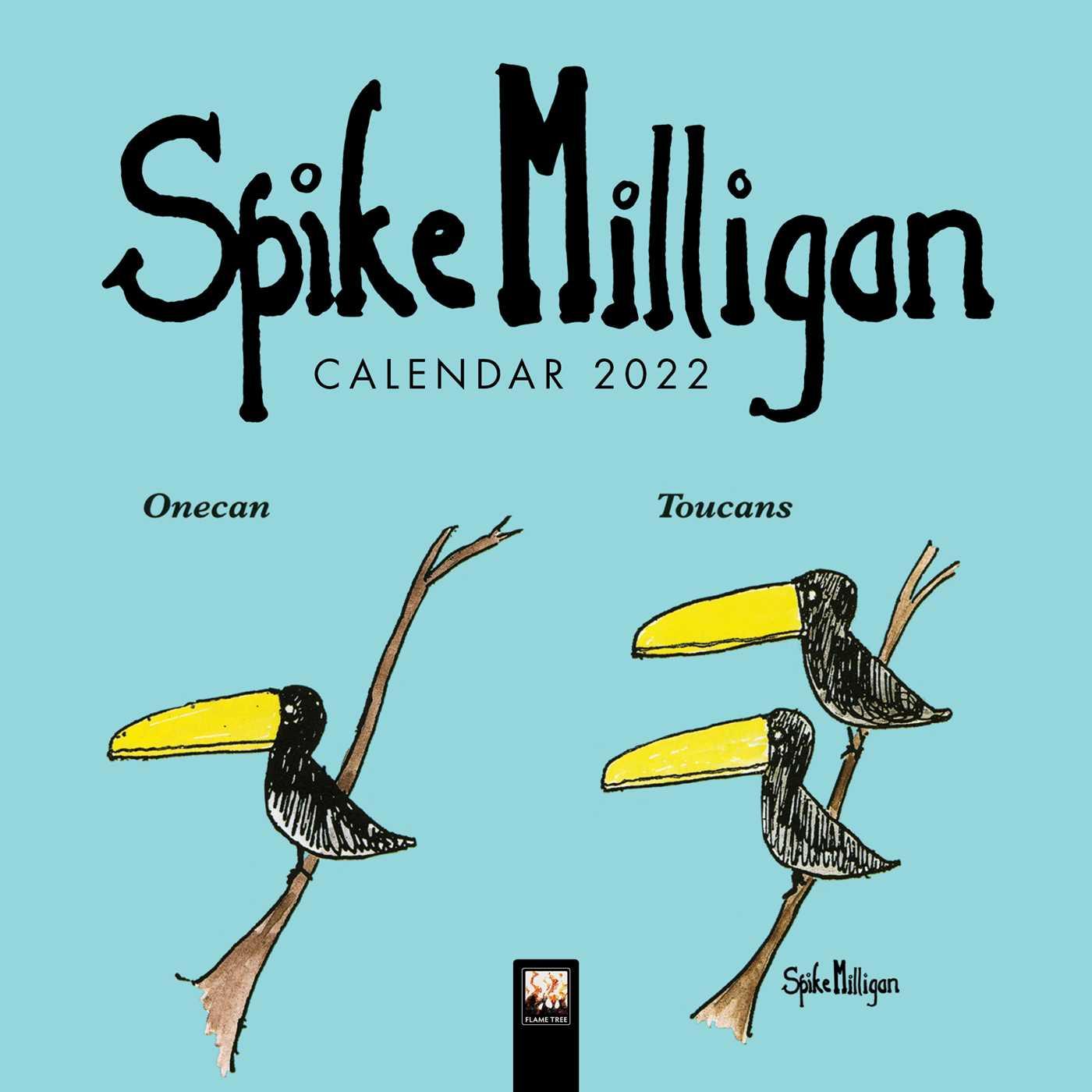 Mini Calendar 2022.Spike Milligan Mini Wall Calendar 2022 Art Calendar Book Summary Video Official Publisher Page Simon Schuster