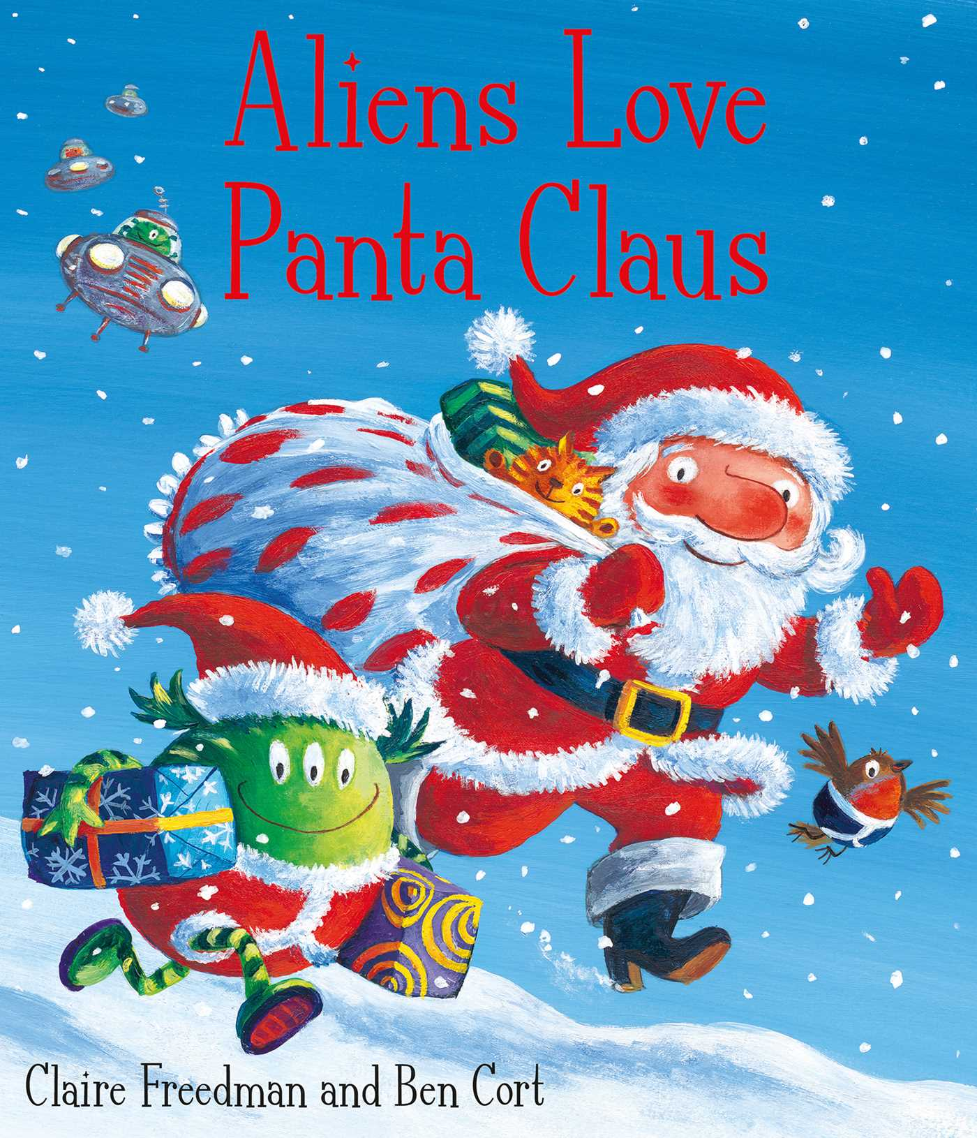 Aliens love panta claus 9781847385703 hr