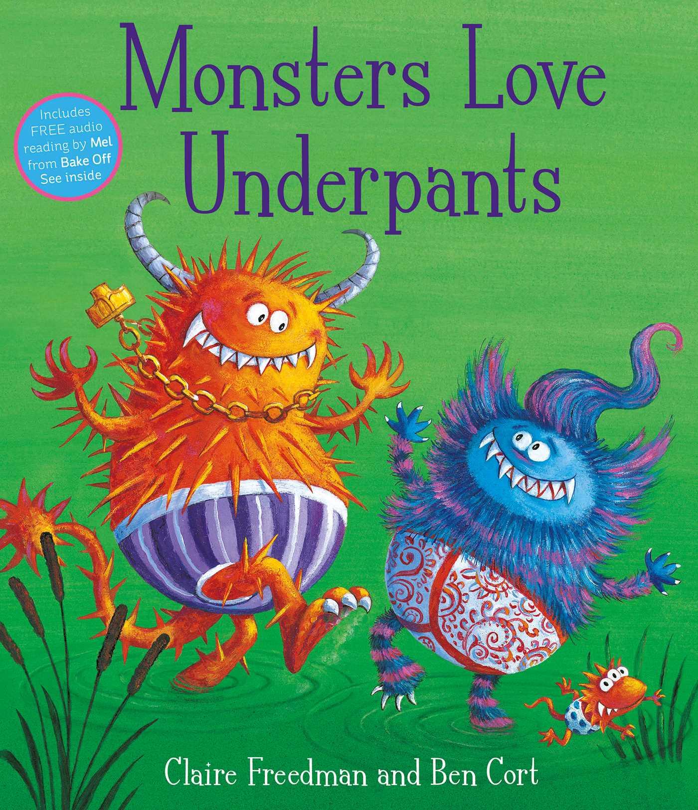 Monsters love underpants 9781847385727 hr