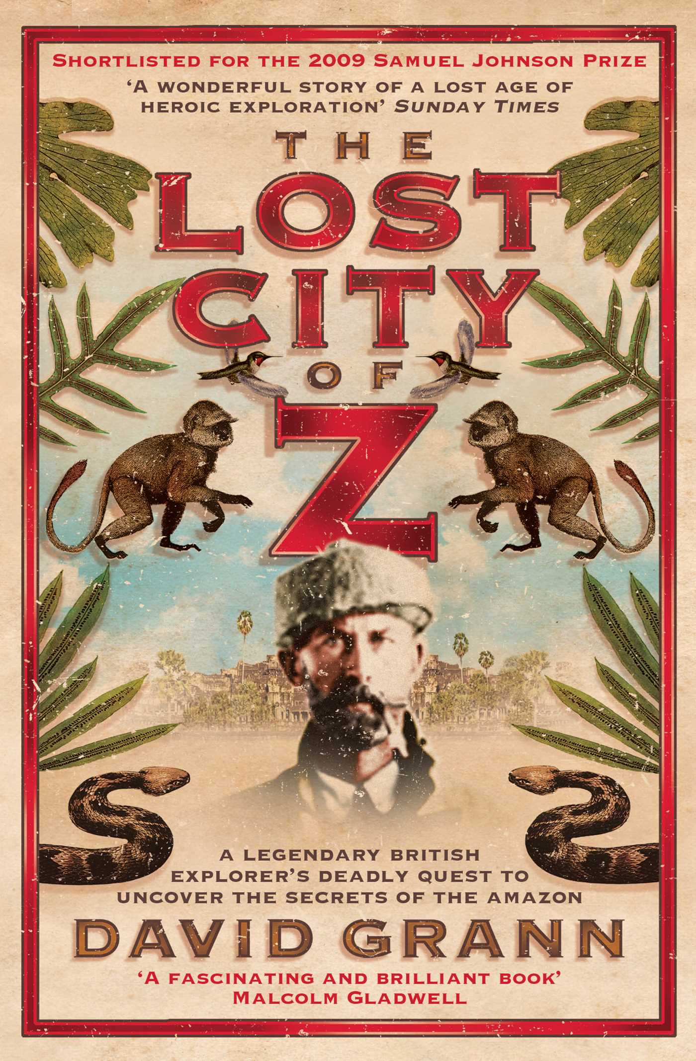 The lost city of z 9781847394439 hr