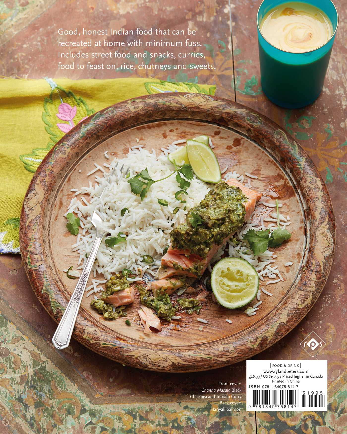 My modern indian kitchen book by nitisha patel official my modern indian kitchen 9781849758147 hr back forumfinder Choice Image