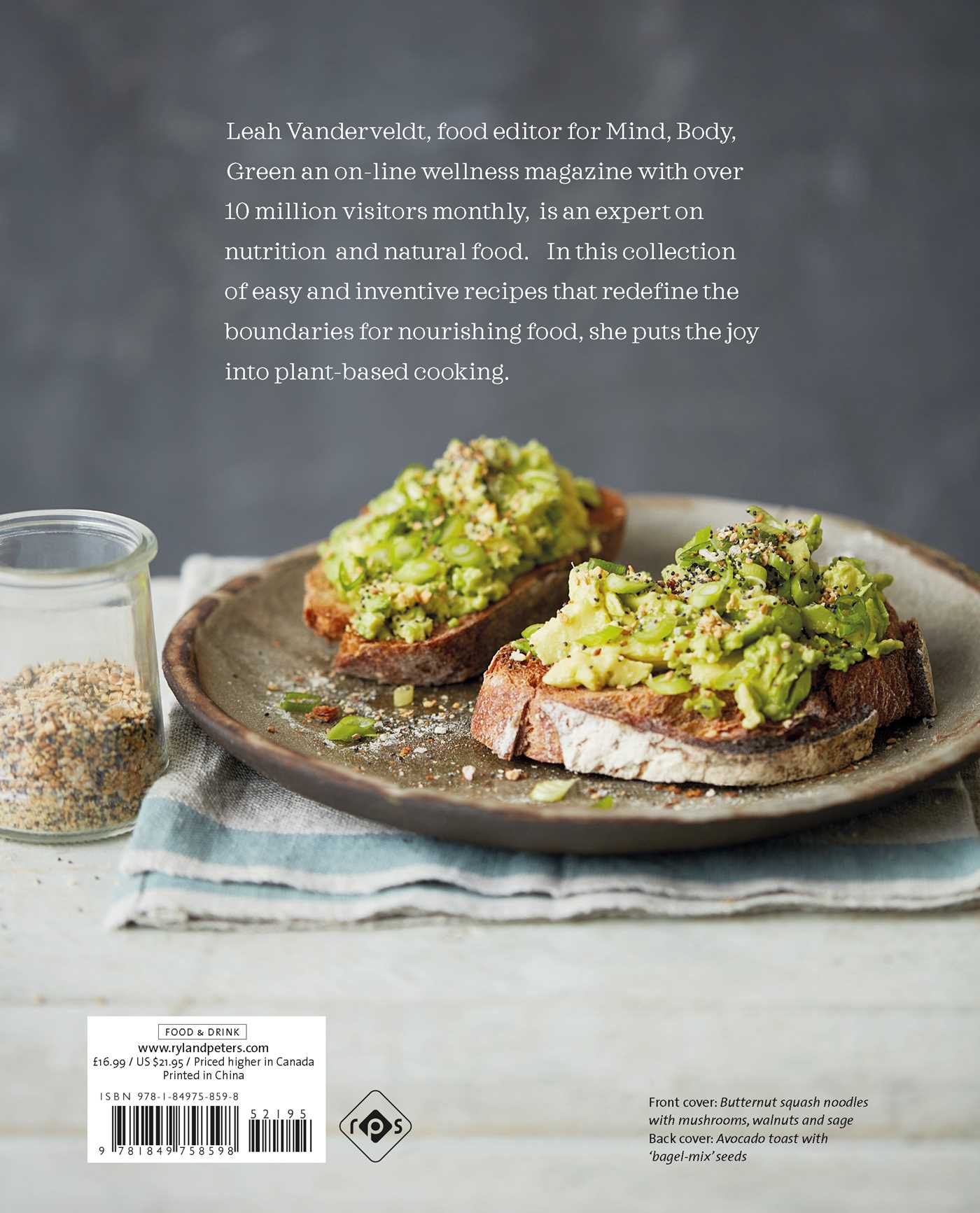 The new nourishing book by leah vanderveldt official publisher the new nourishing 9781849758598 hr the new nourishing 9781849758598 hr back forumfinder Choice Image
