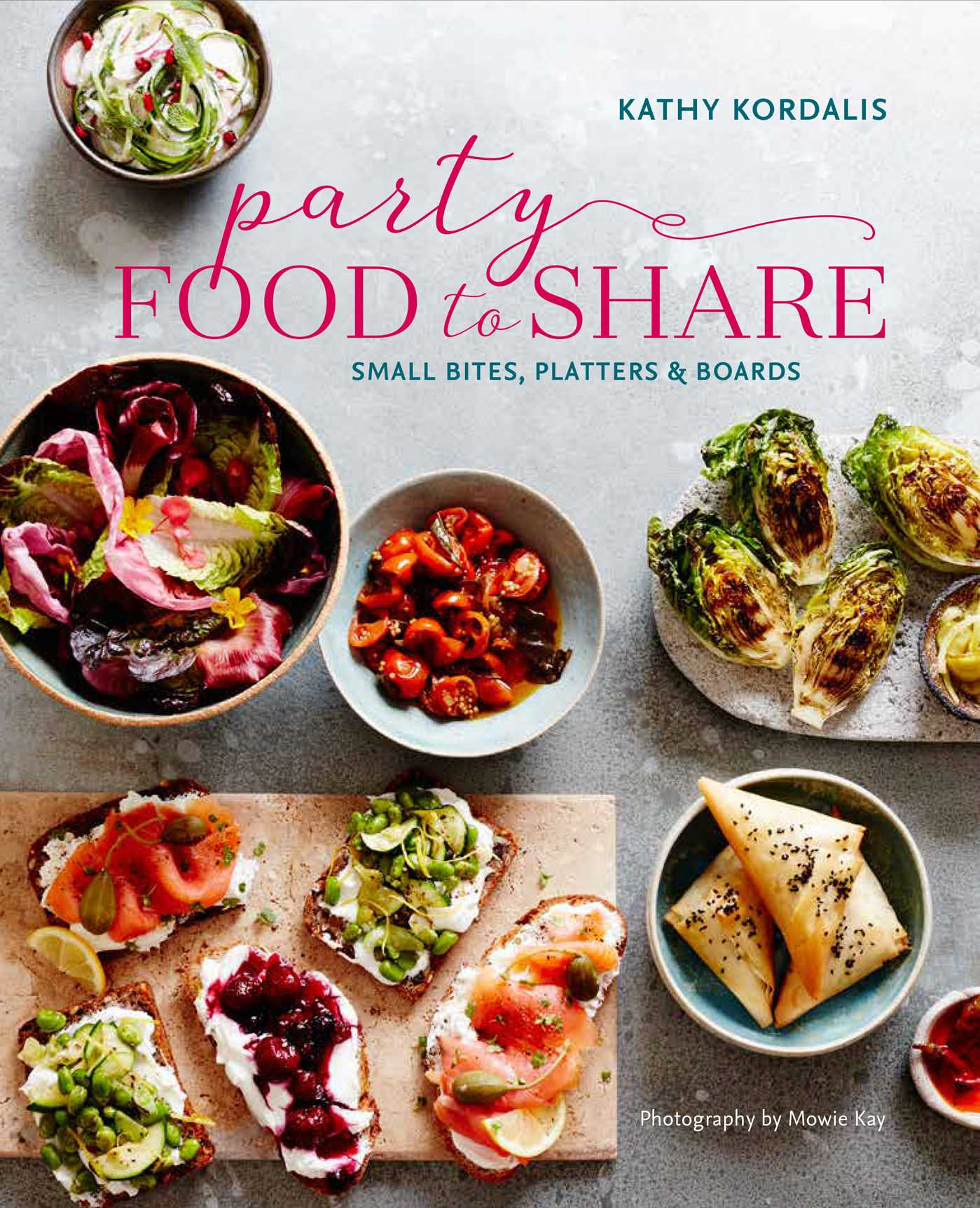 Party perfect food to share 9781849758628 hr