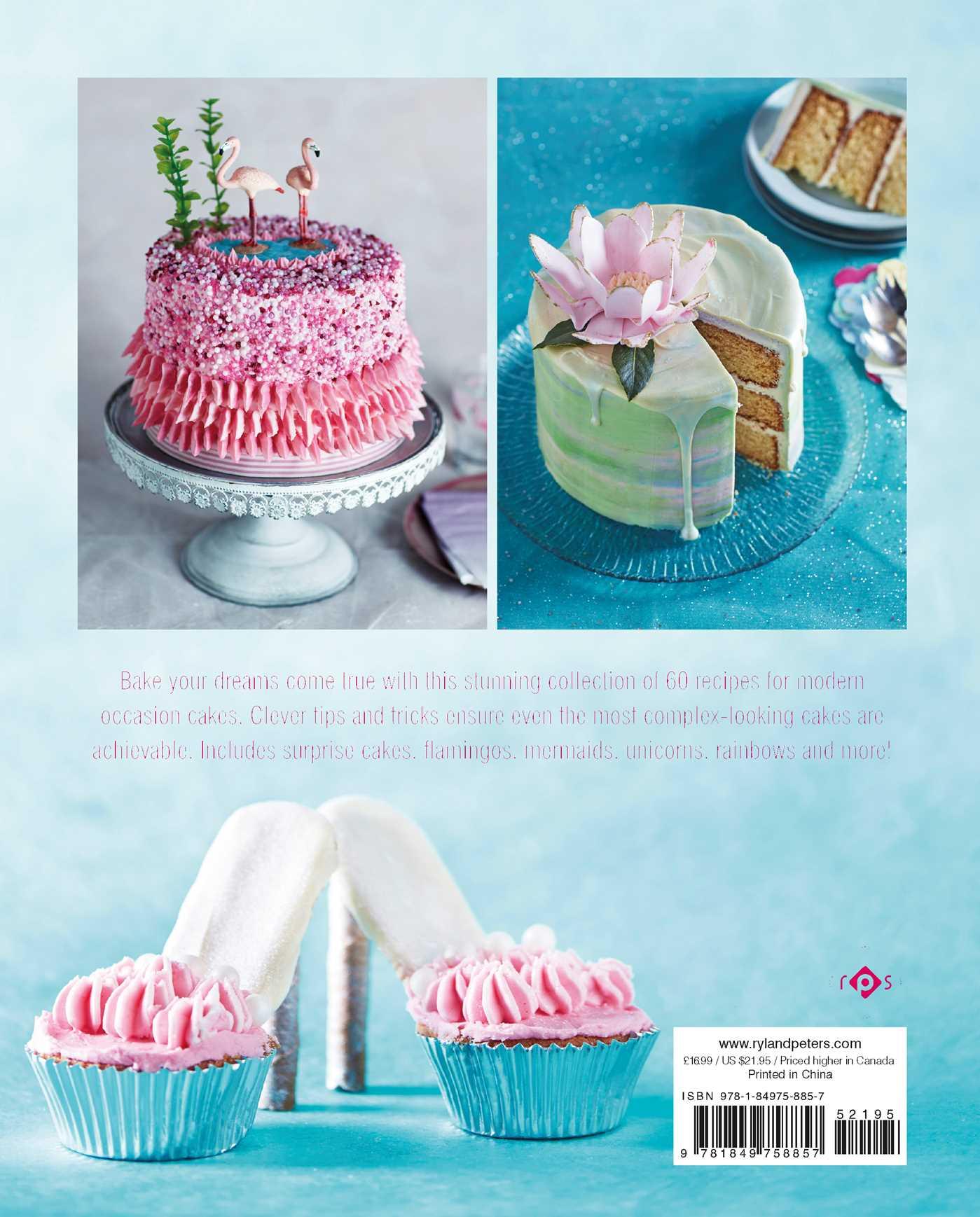Fantasy cakes 9781849758857 hr back
