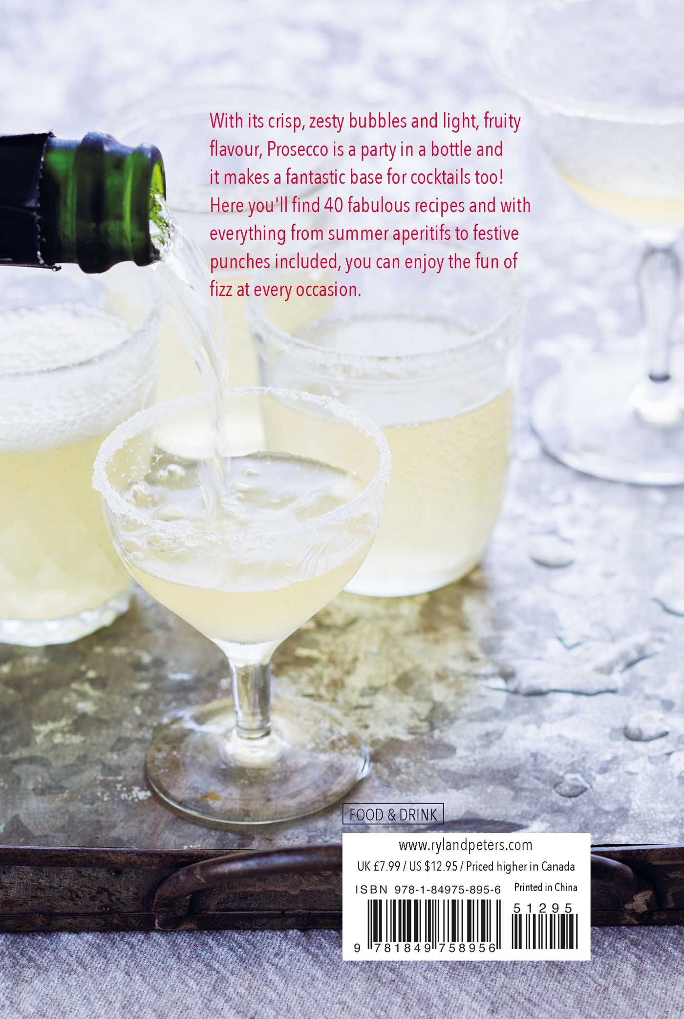 Prosecco cocktails 9781849758956 hr back
