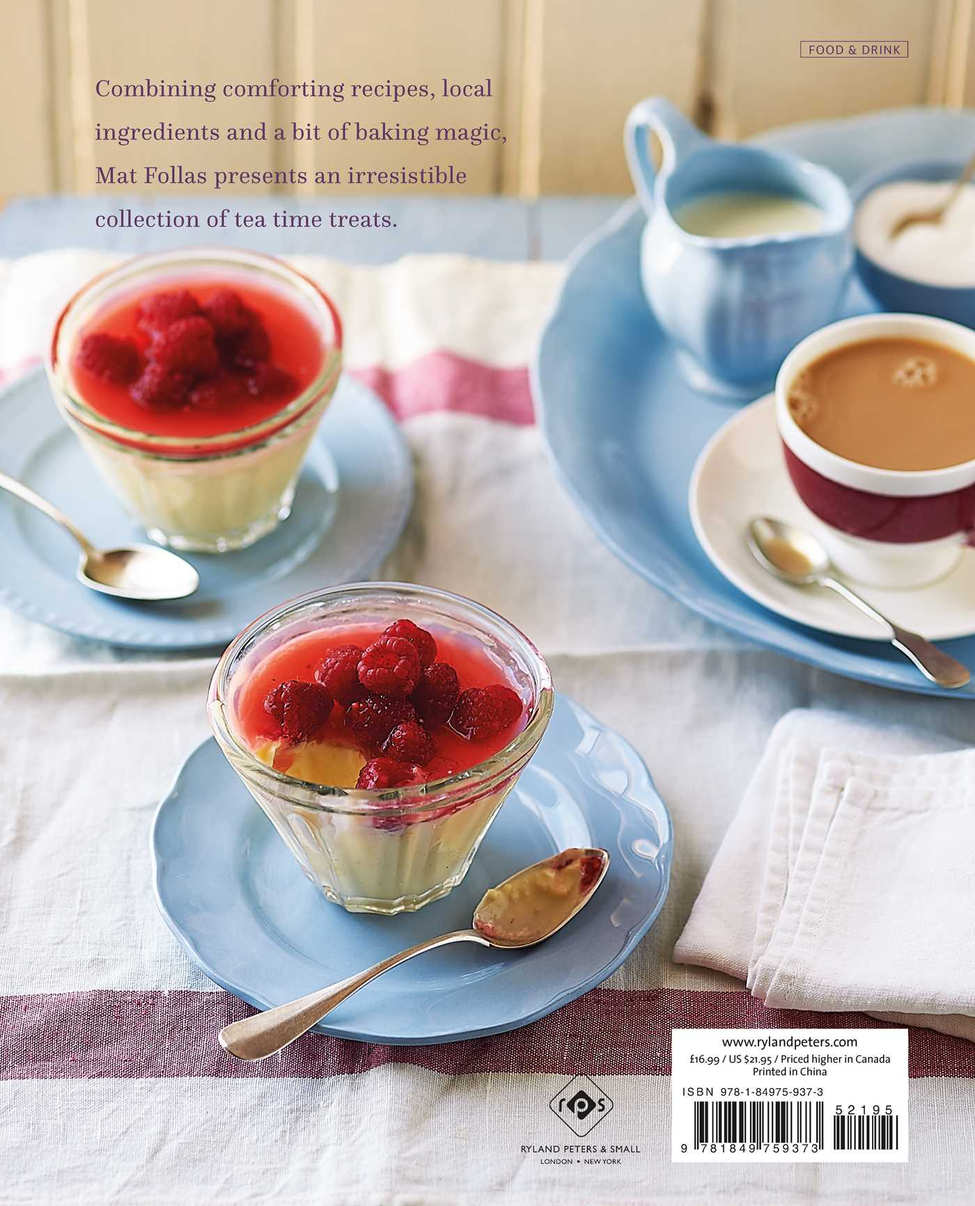Afternoon tea at bramble cafe 9781849759373 hr back