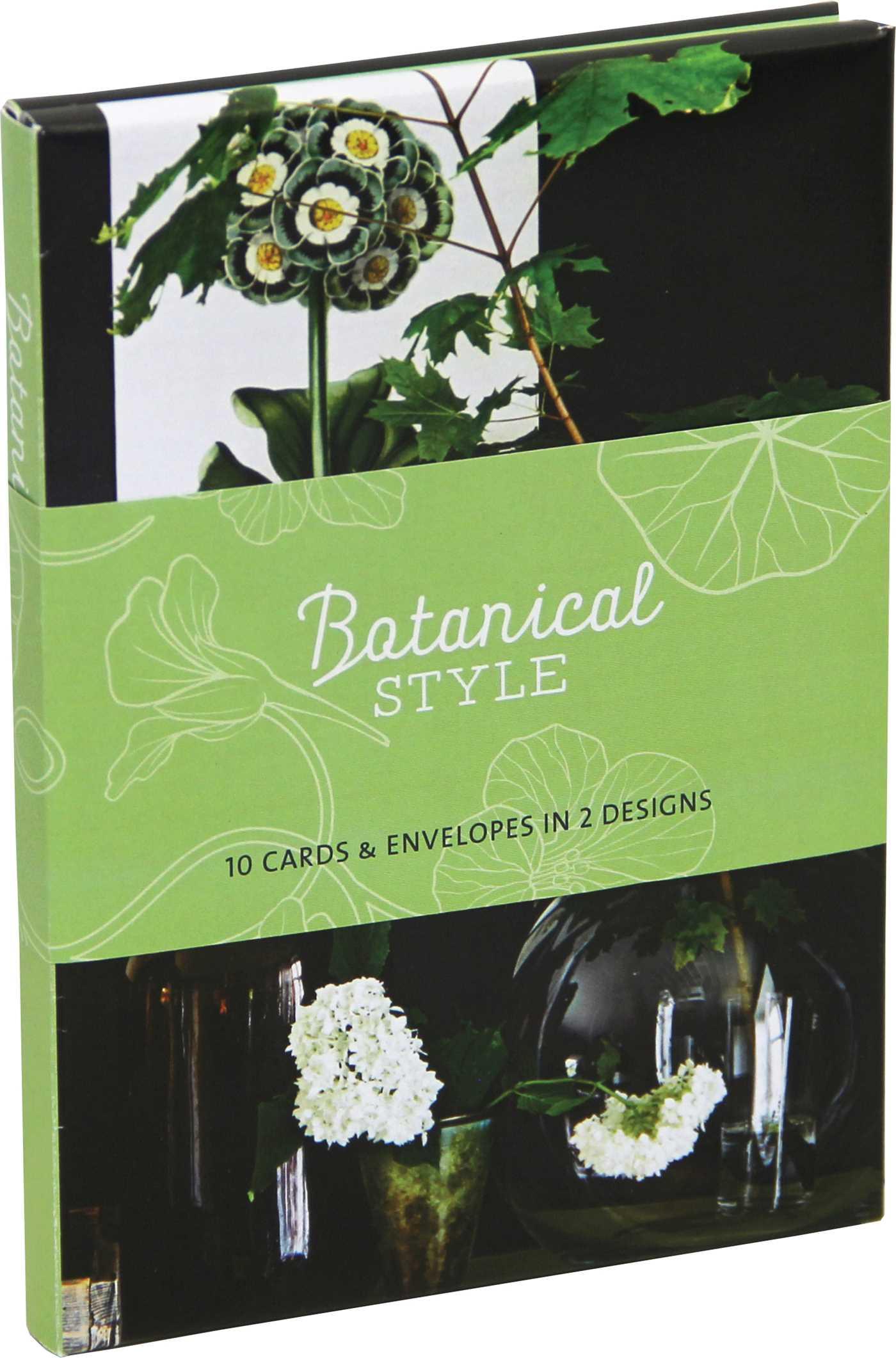 Botanical style wallet notecards 9781849759465 hr