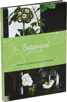 Botanical Style Wallet Notecards