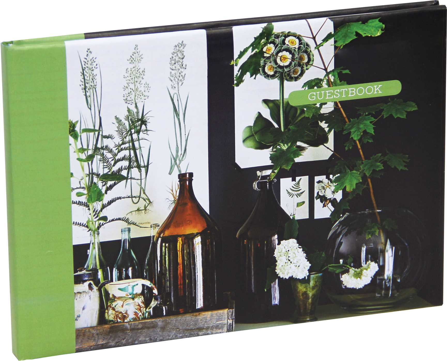 Botanical style guest book 9781849759489 hr