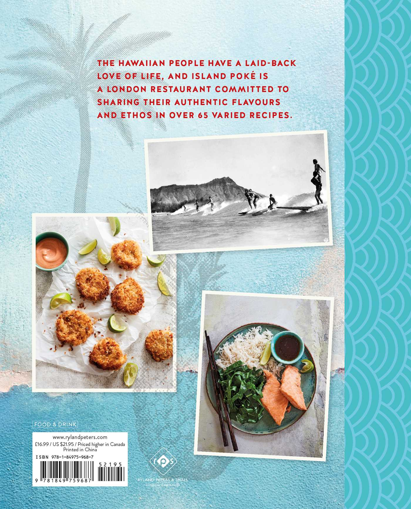 The island poke cookbook 9781849759687 hr back