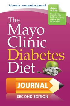 the mayo clinic diabetes diet journal book by donald d hensrud