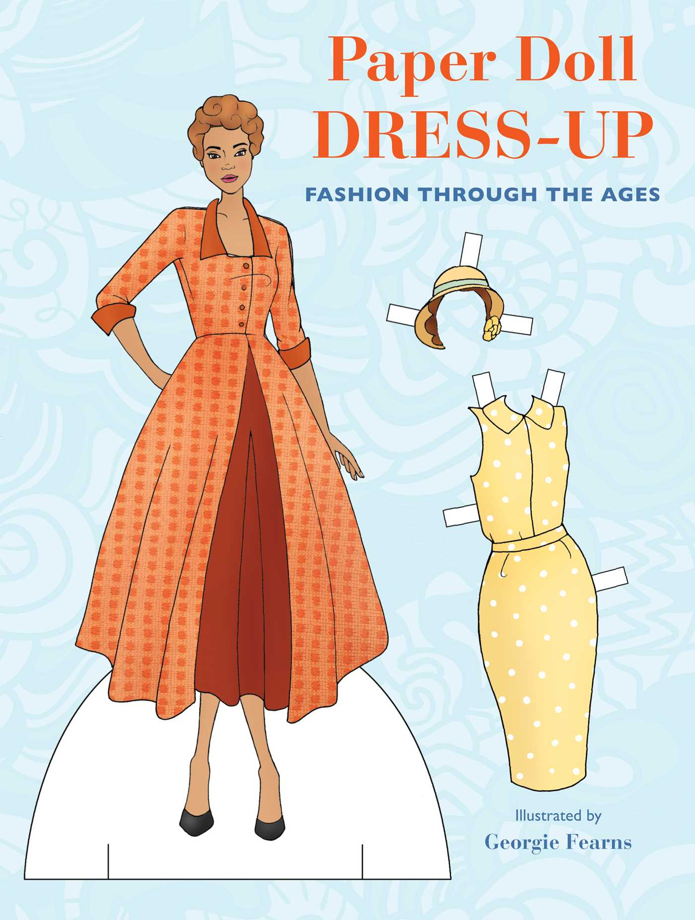 Paper Doll Dress Up Book by Georgie Fearns