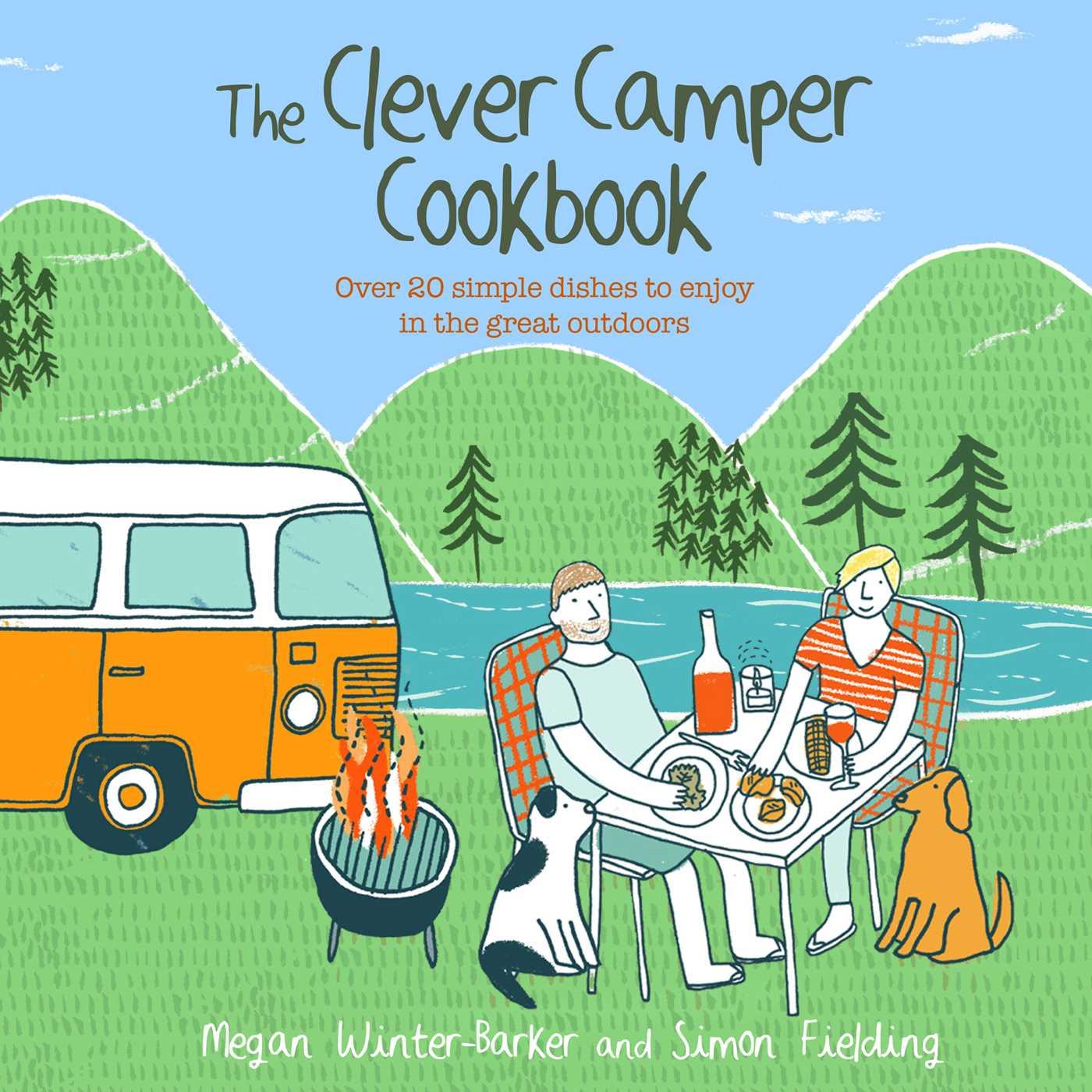The clever camper cookbook 9781911026419 hr