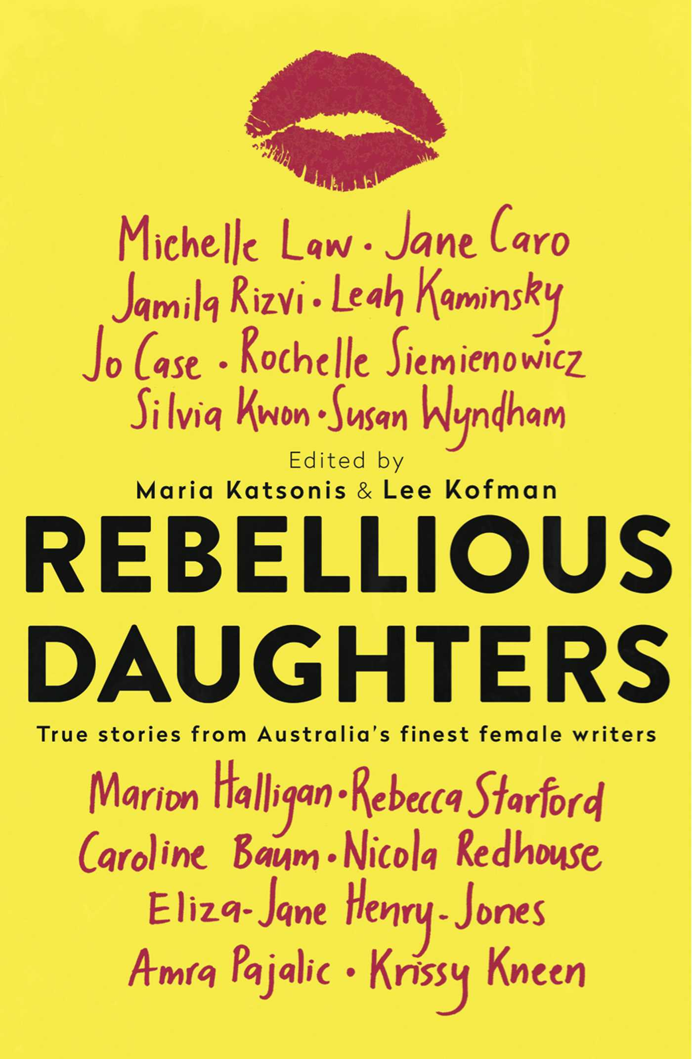 Rebellious daughters 9781925183528 hr