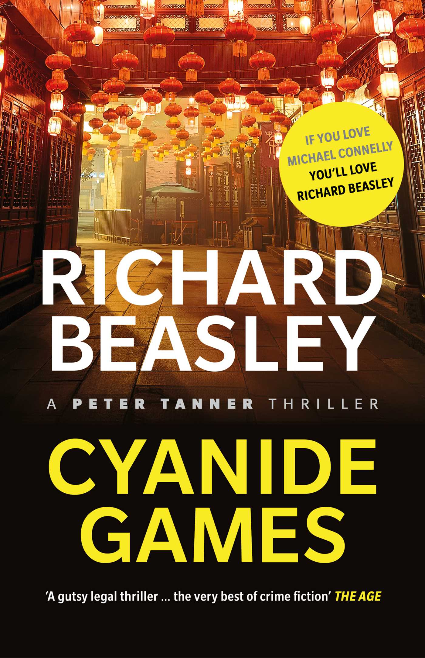 Cyanide games a peter tanner thriller 9781925368130 hr