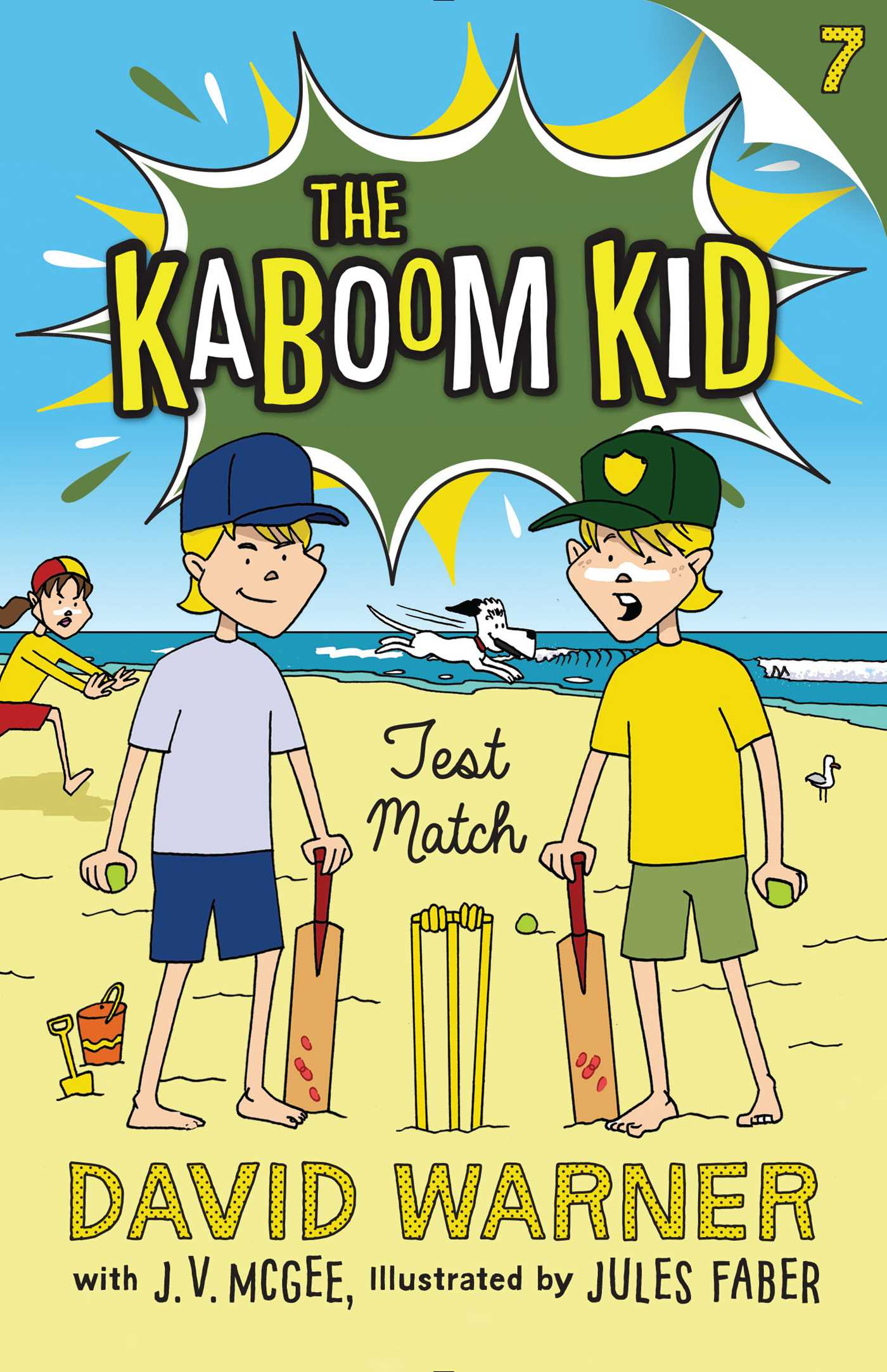 Test match kaboom kid 7 9781925368185 hr